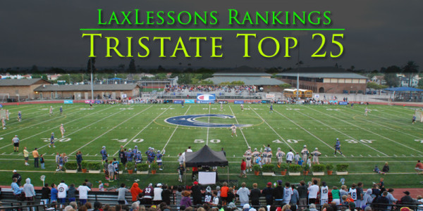 Lacrosse Insider: Tristate Top 25 – Week 9 rankings