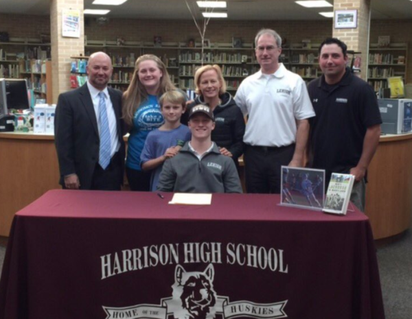 harrison lax fall signing NLI